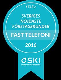 SKI Kund 2016 - Fast telefoni B2B