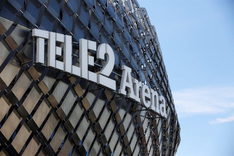 Tele2Arena fasad