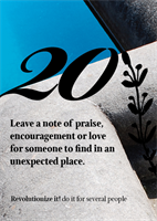 "Leave a ""love"" note…"