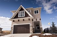 Exterior of the Foothills Hospital Home Lottery grand prize show home #2