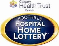 2012 Foothills Hospital Home Lottery logo