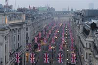 Union Flags return on Regent Street, London W1_Image 1