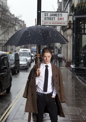 Freddie Fox launches White Shirt Week in St James s London