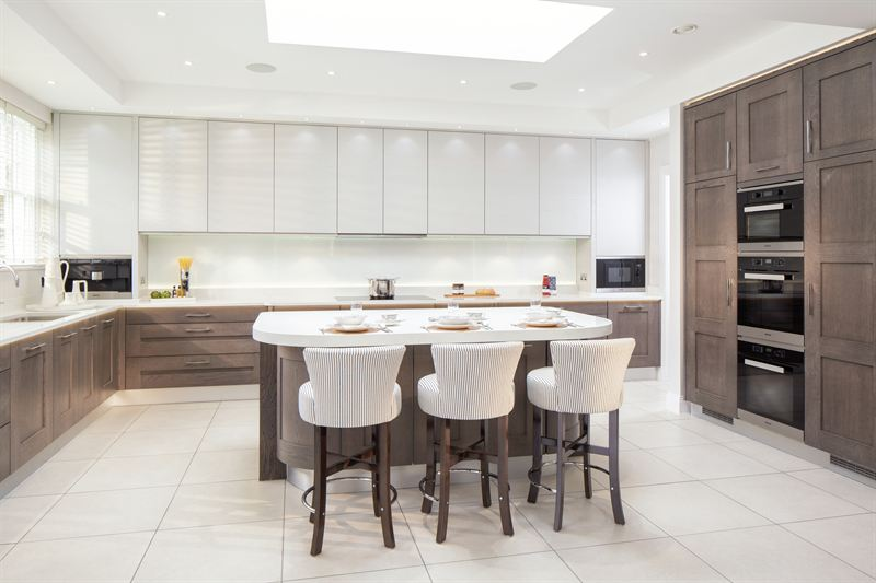 Stoneham Kitchens meets contemporary in stoneham kitchens installation