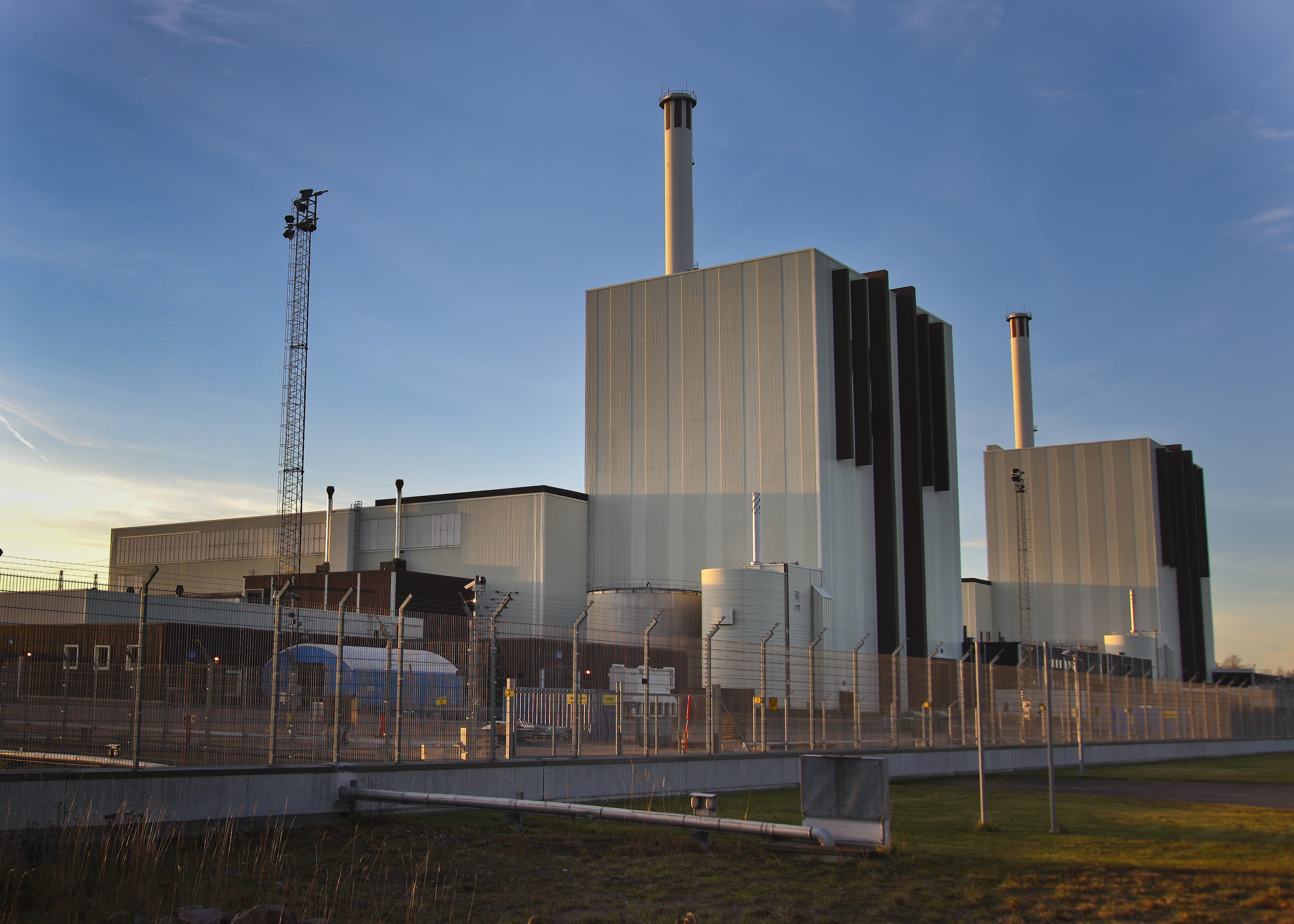 Forsmark nuclear plant exterior 02