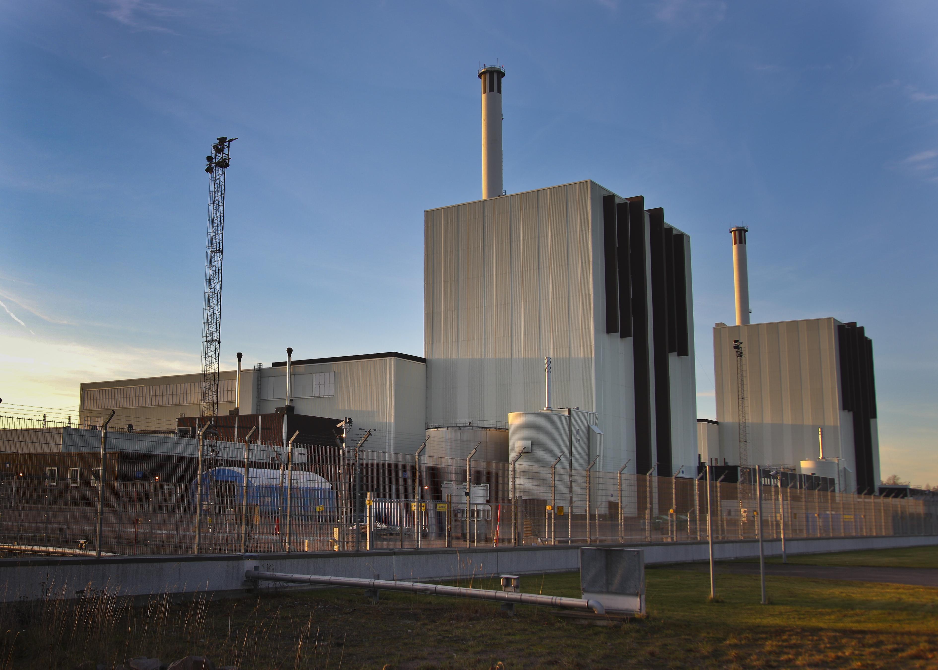 Forsmark nuclear plant exterior 02