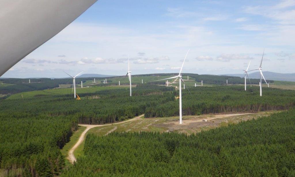 Pen y Cymoedd vindkraftpark i Wales