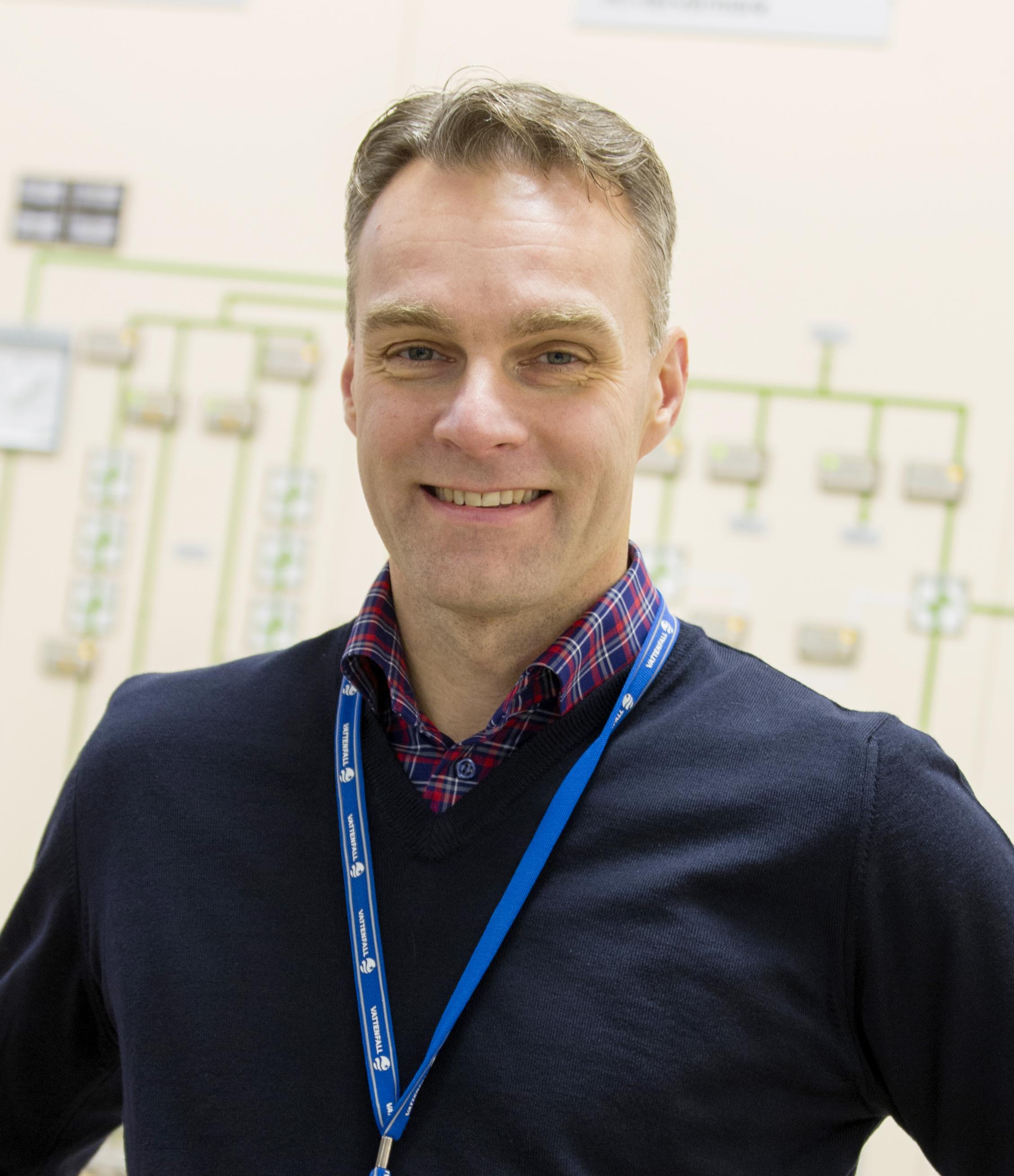Björn Linde VD Forsmark och Ringhals 1
