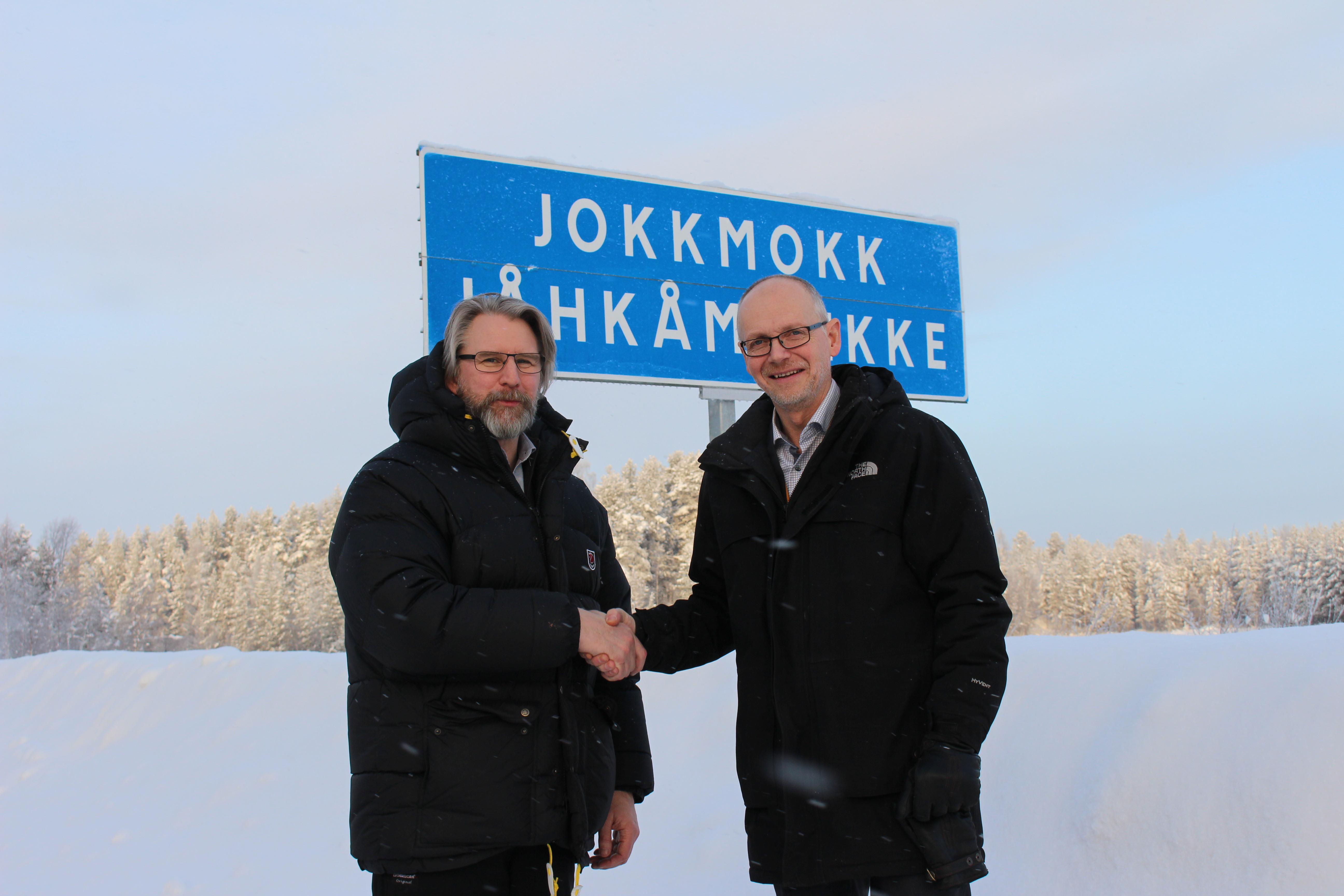 Robert Bernhardsson och Christer Ljunggren