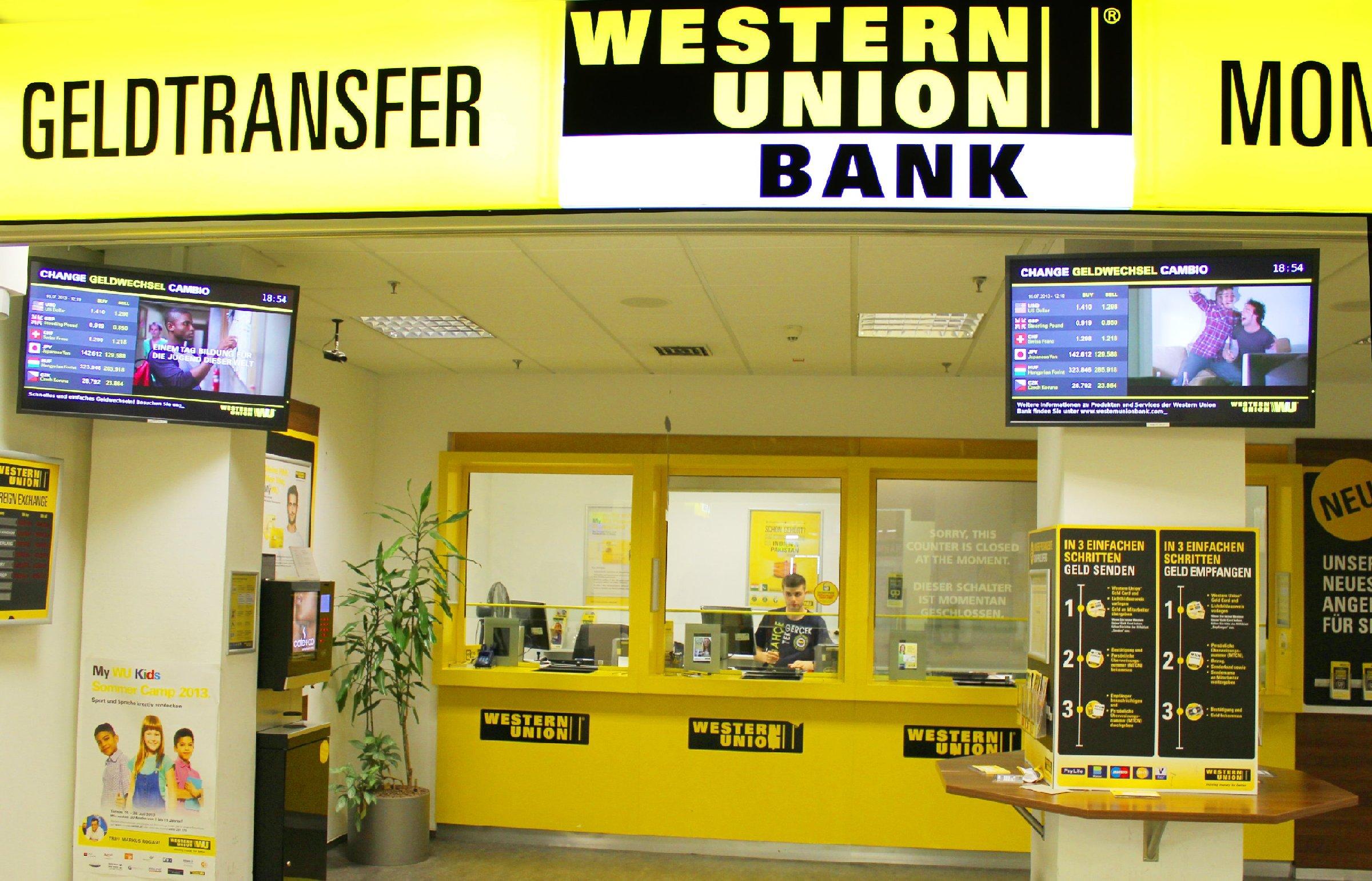 Western Union Sonntag Wien