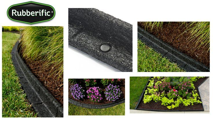 Rubberific Debuts New Premium Landscape Edging
