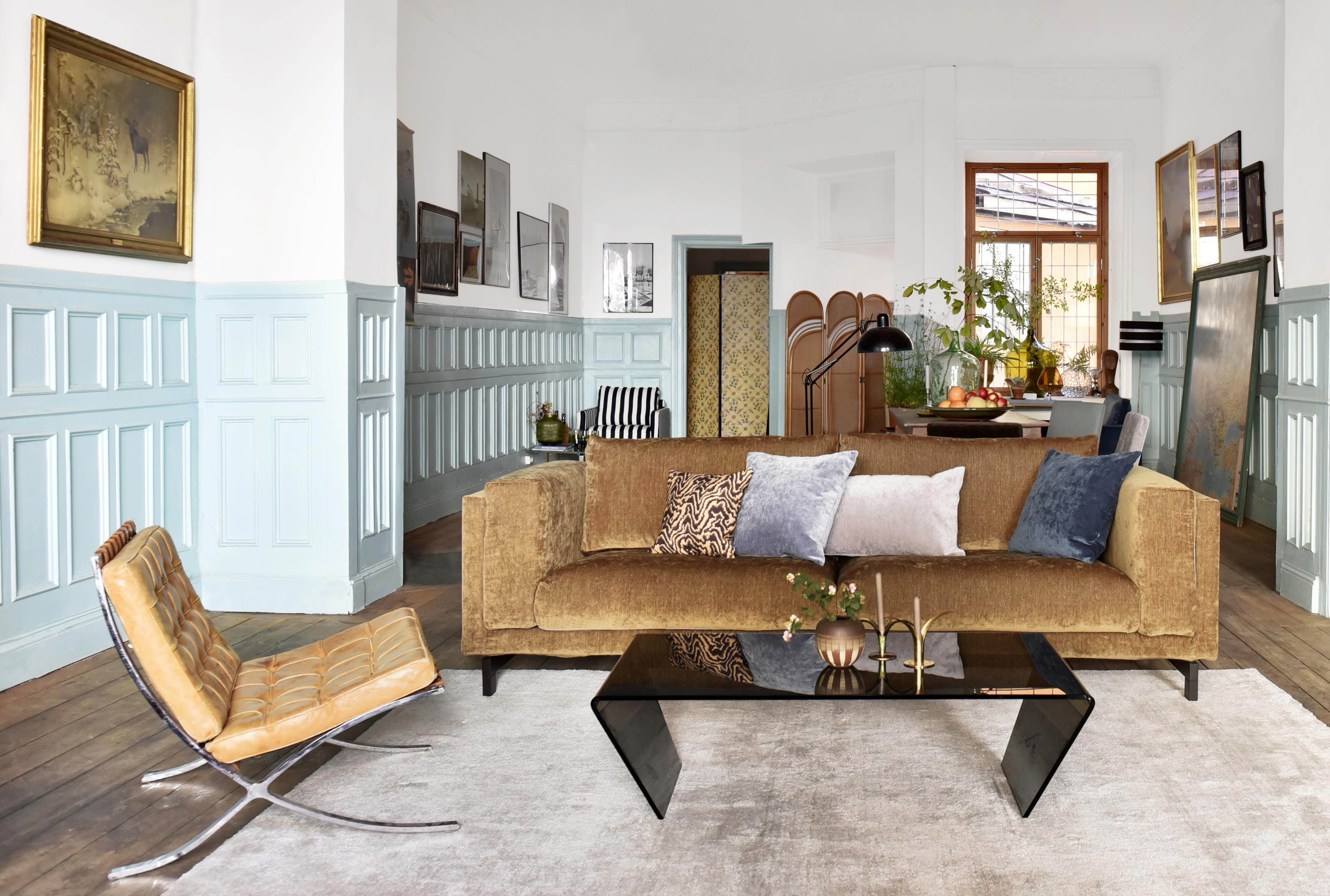 Nockeby sofa in acorn bemz for Sofa nockeby