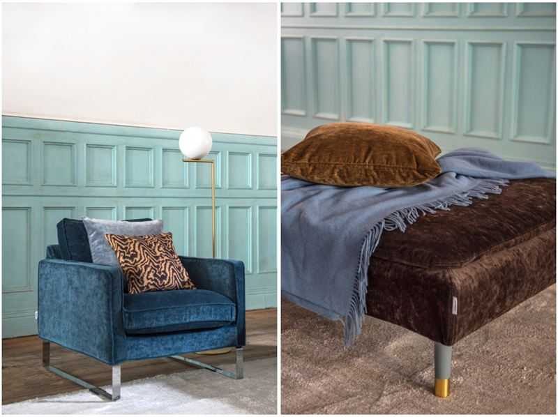 Bemz Teams Up With Designers Guild To Launch Limited Edition Velvet Covers Bemz