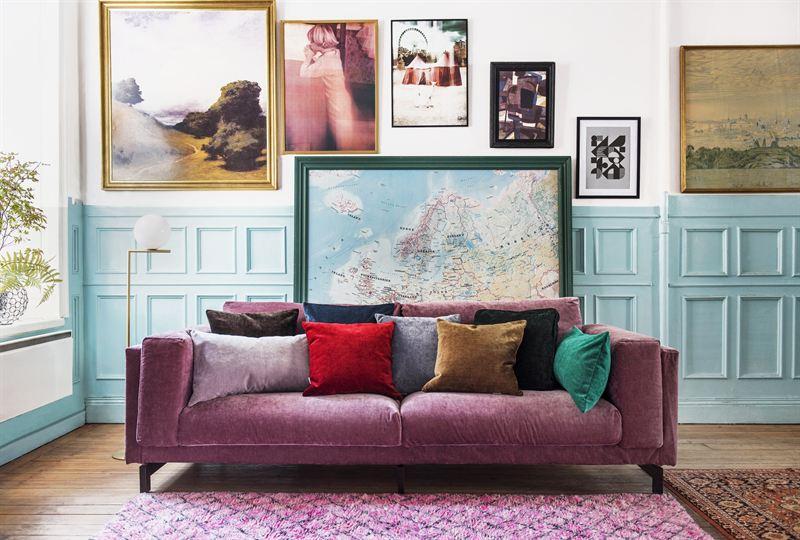 nockeby sofa in clover bemz. Black Bedroom Furniture Sets. Home Design Ideas
