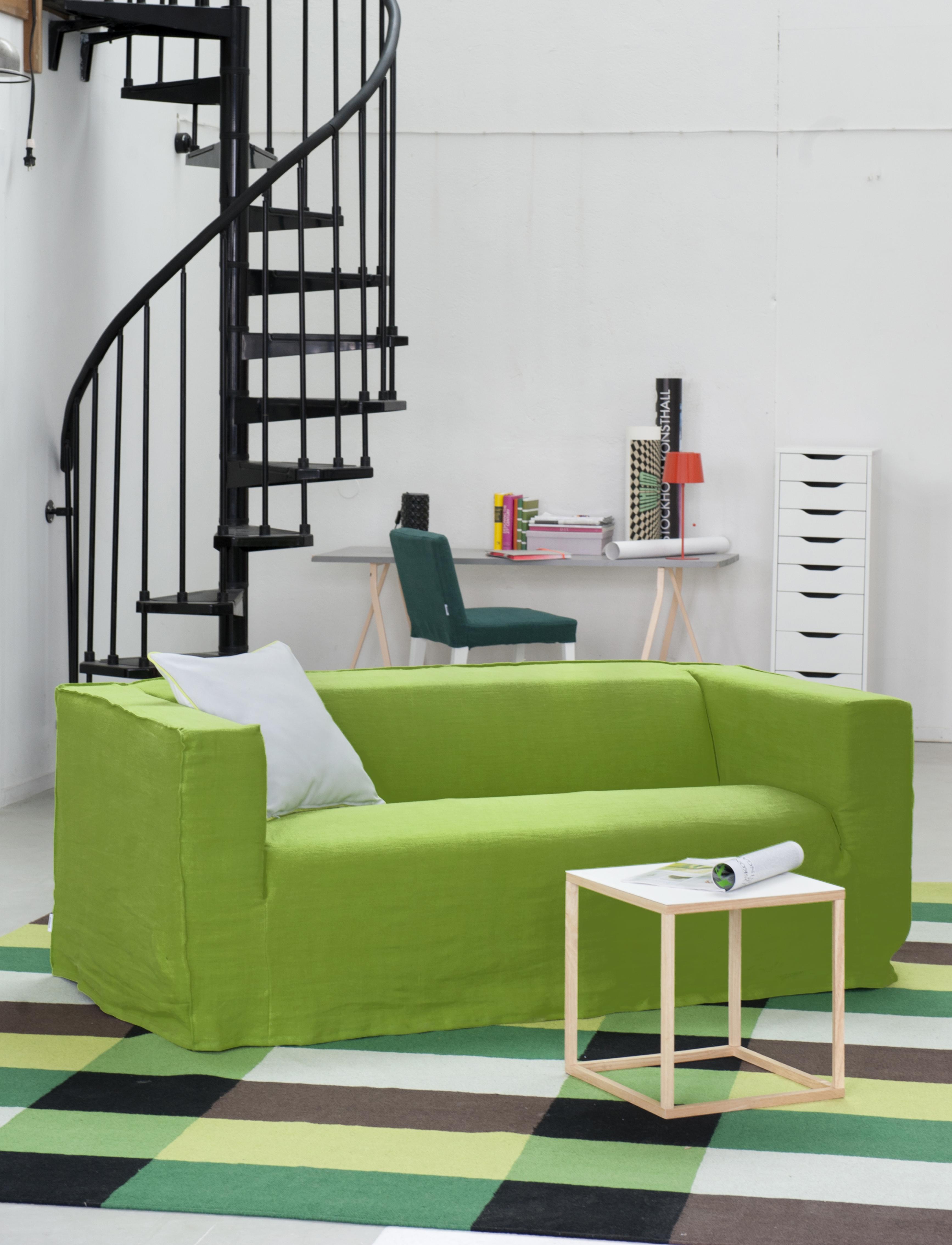 Ikea Klippan Brera Lino Leaf Bemz # Couleur Ikea
