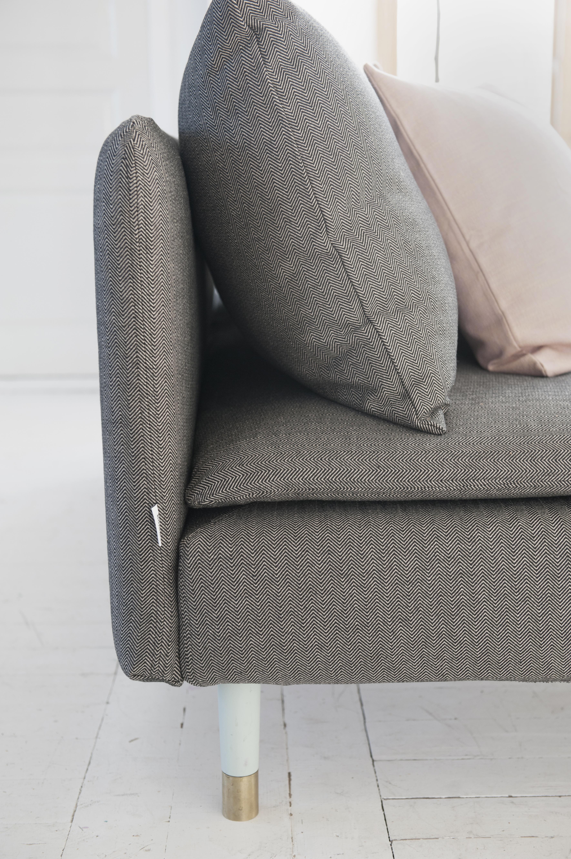 jet black sand beige brinken herringbone bemz. Black Bedroom Furniture Sets. Home Design Ideas
