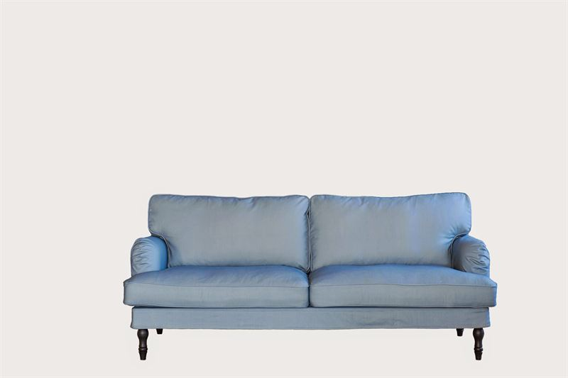 Steel Blue Stocksund Sofa Cropped Bemz