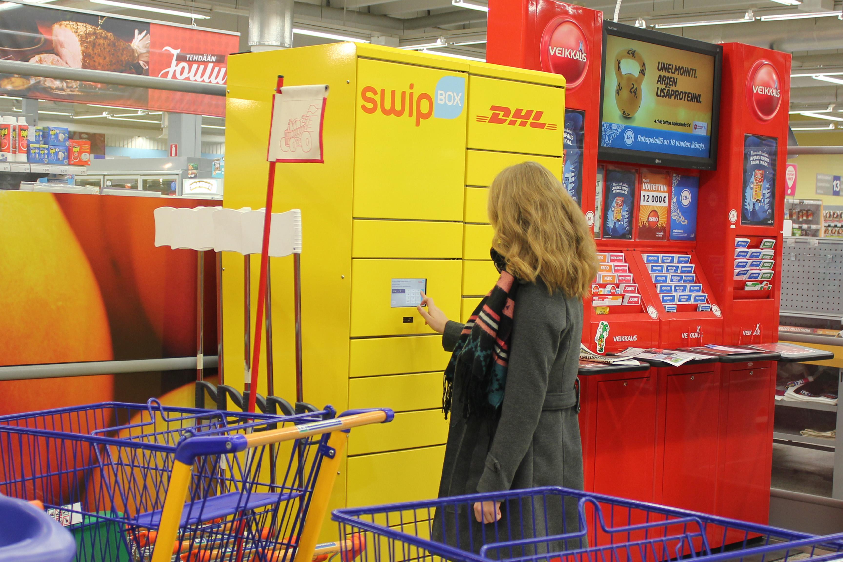 dhl express pakettiautomaatti k market korso dhl