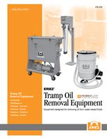 Tramp Oil Removal Equipment Brochure