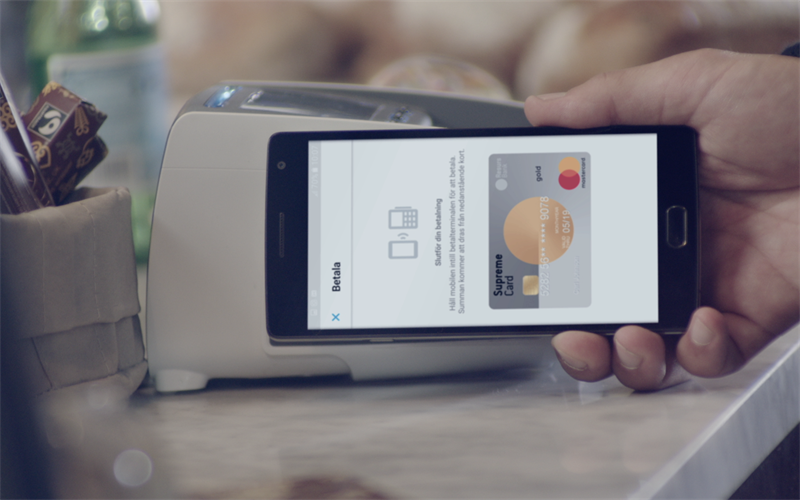 Press- Touch to Pay