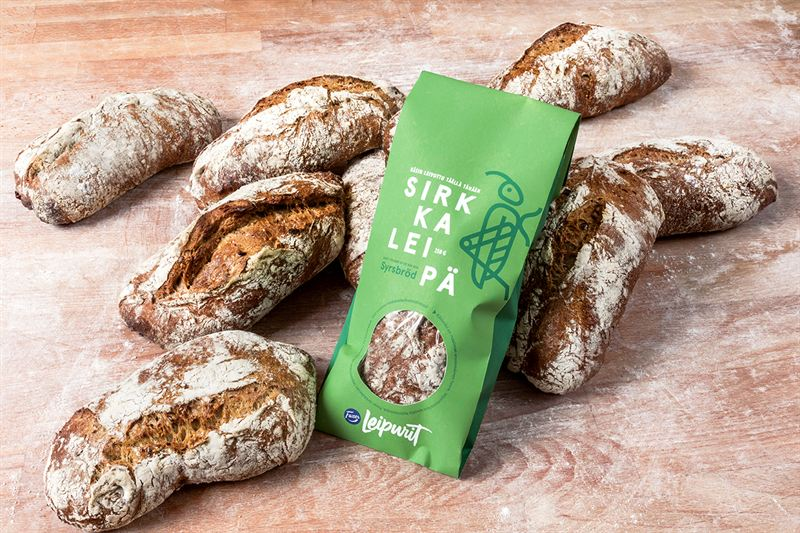 Stores in Finland Launch Bread with Insects