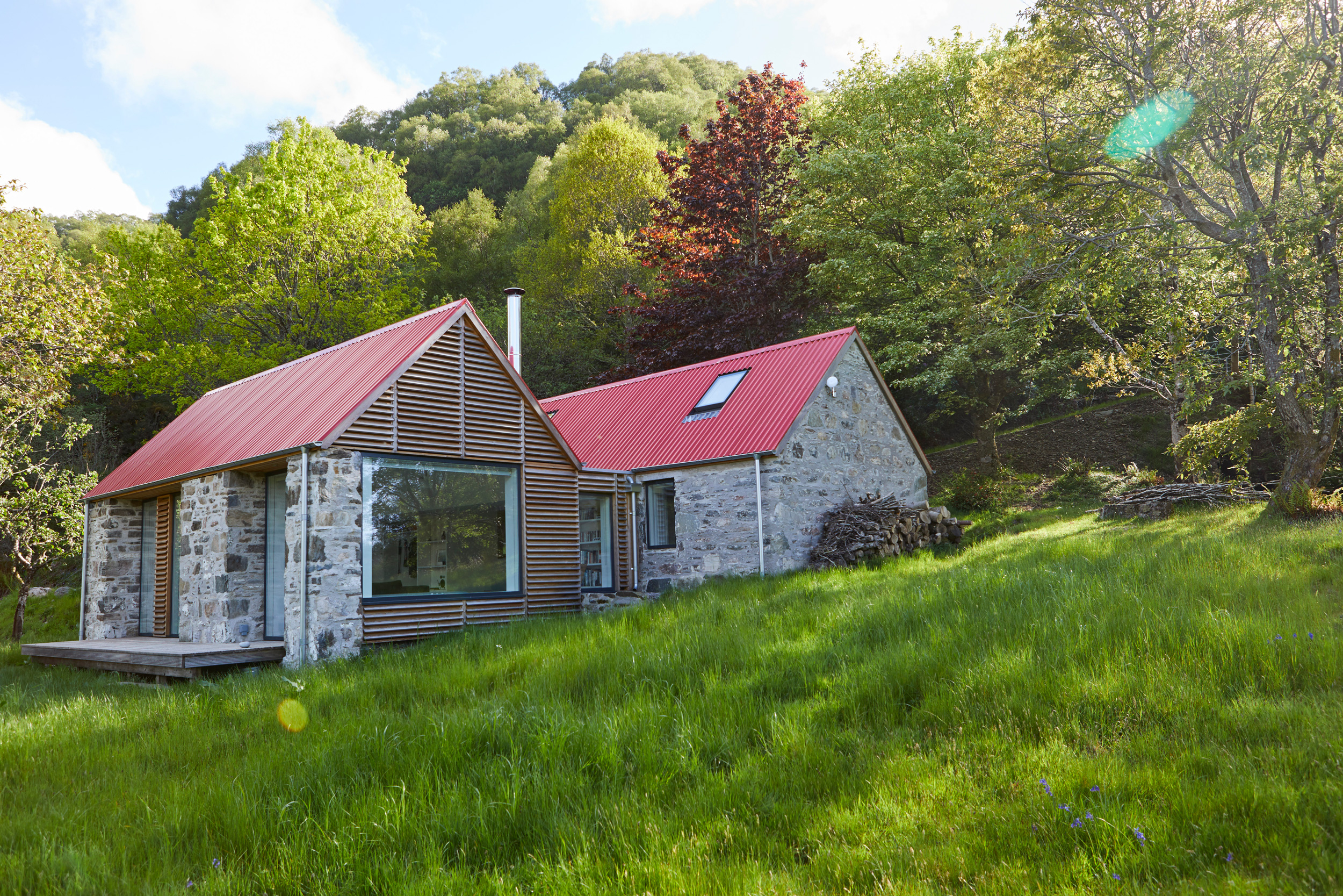 Sustainable Cottage With GreenCoatR Steel Nominated For RIBA House