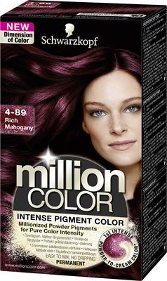 lila hårfärg permanent