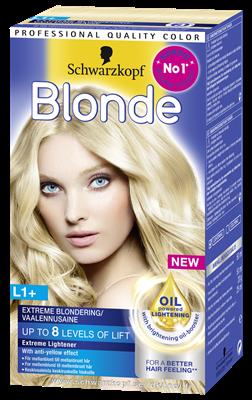 Orange hår till blont