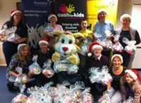 Foresters' little helpers create gift packs for underprivileged babies