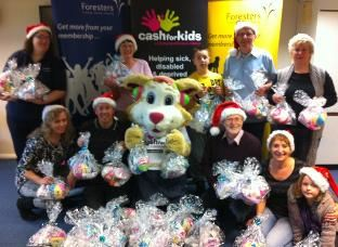 Foresters little helpers create gift packs for underprivileged babies