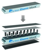 : Thermoblock from Marmox UK overcomes the problem of thermal bridging and will be on display during Ecobuild 2012