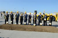 DHL Groundbreaking Ceremony at Cincinnati / Northern Kentucky airport, March 14, 2012