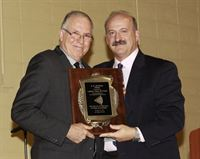 Getman Award recipient -Dr Leonard Press w-Dr Gary Etting