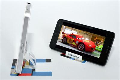Simple phone stand revolutionises smartphone use standeazy ltd colourmoves