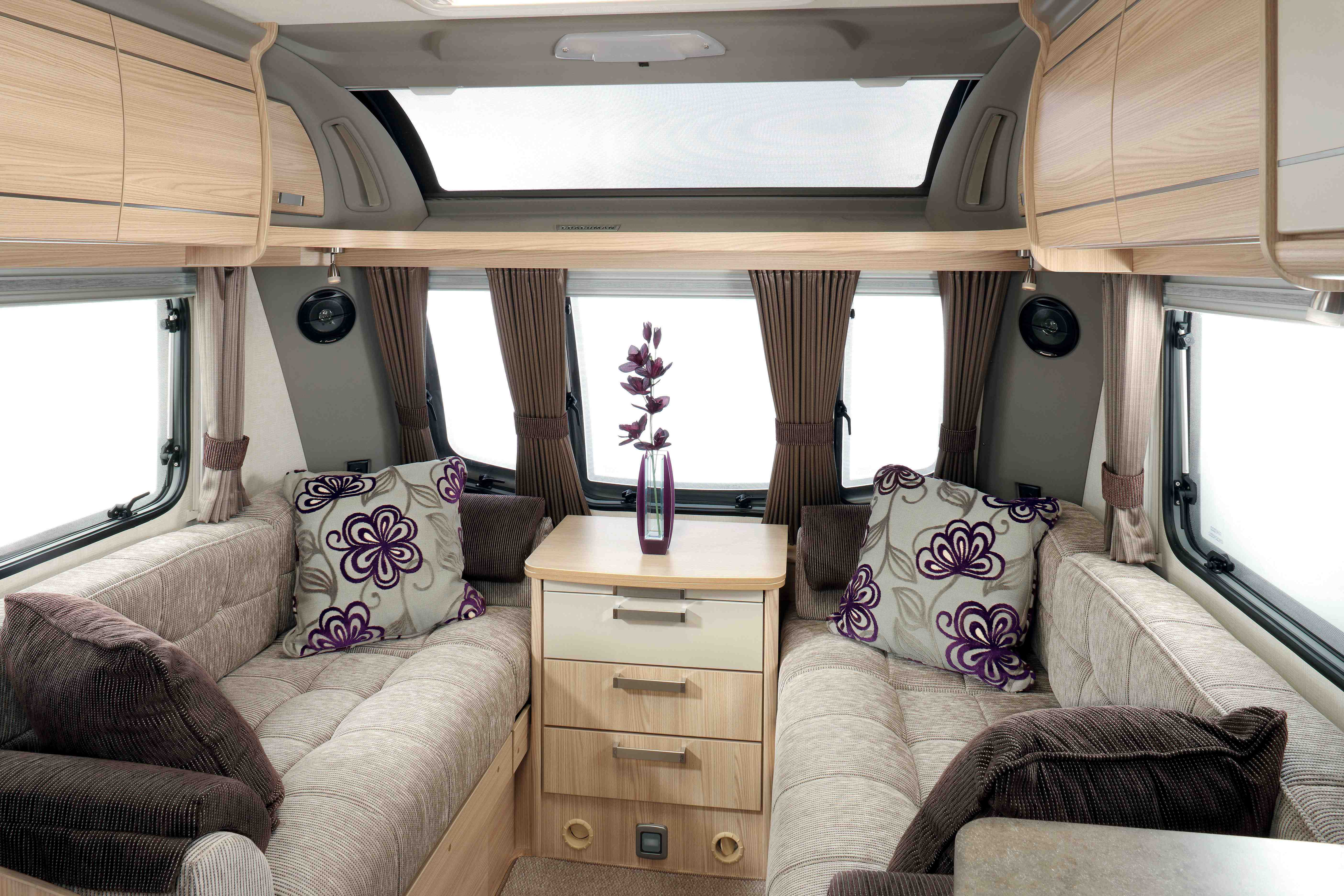 Coachman Pastiche seating area - Coachman Caravans