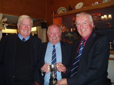 Dick Jemmett, Senior Captain Tim Watson and Nick Hanbury