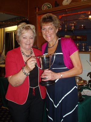 Lady Captain Pauline Skinner and Jo Shorrocks