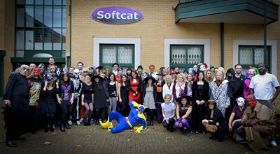Halloween at Softcat HQ
