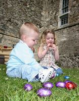 Easter egg trail at Wroxeter Roman City