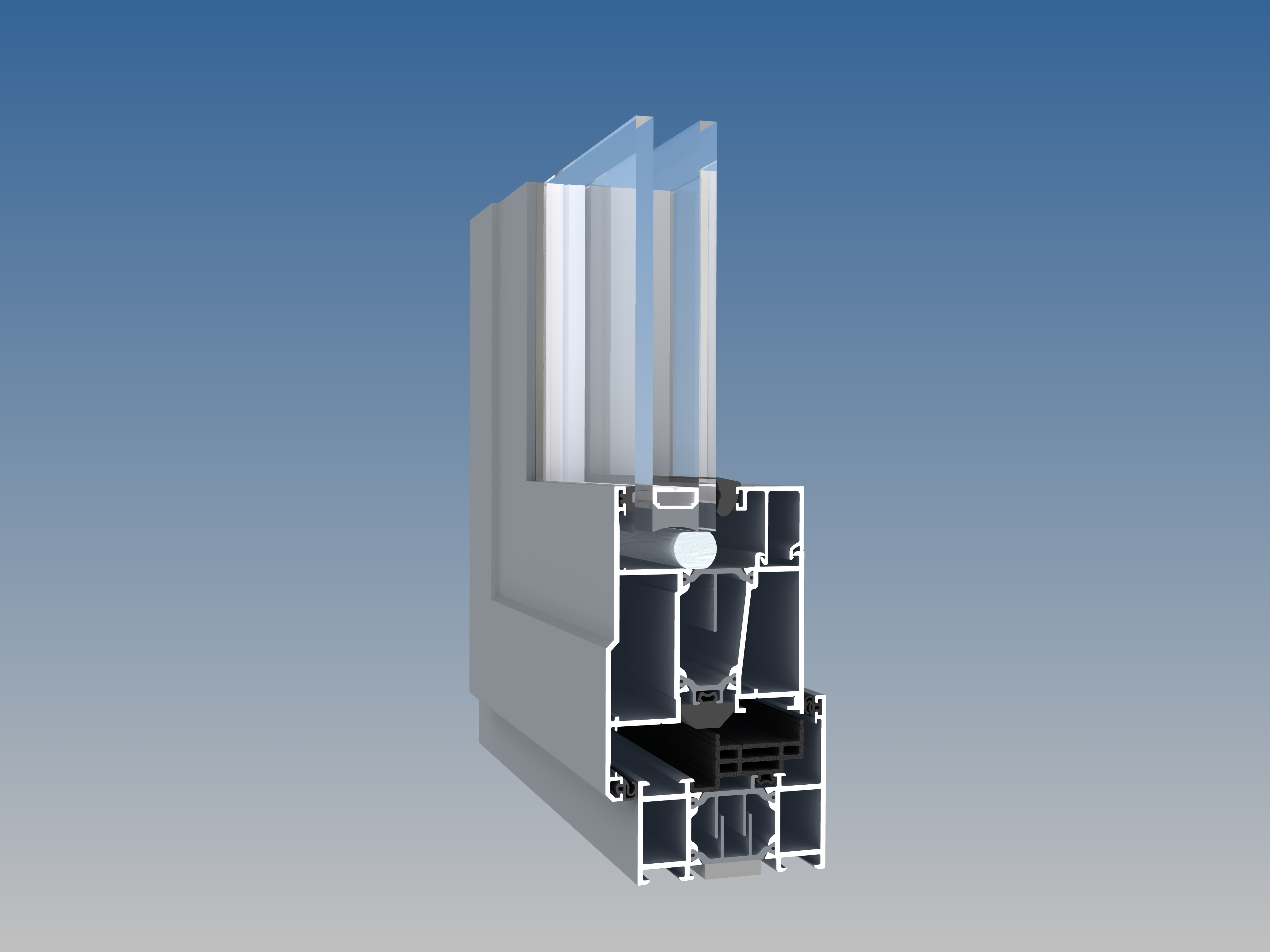 Parallel Hung Windows : Kawneer launches one of the largest casement windows on