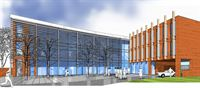 Artist's impression of the new Modern Languages Department (image courtesy of HLN Architects)