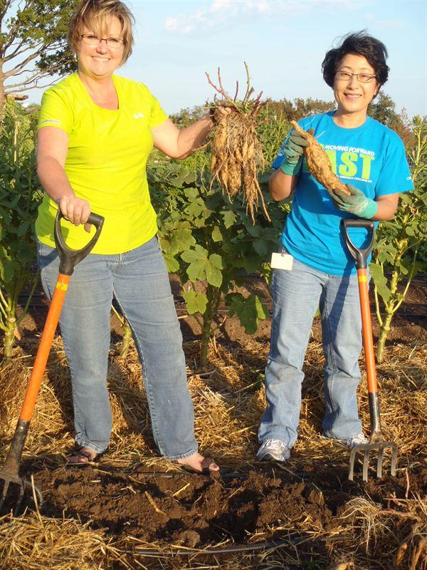 Employee Gardeners at Chesapeake Chesapeake Energy