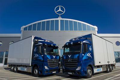 Mercedes lastbilar motorer