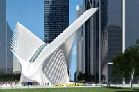 """Oculus"" at World Trade Center Transportation Hub in New York"