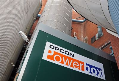 An Opcon Powerbox at Stora Enso Skutskärs bruk, Sweden