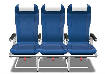 SAS' new seats, front