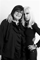 Margareta van den Bosch and Donatella Versace