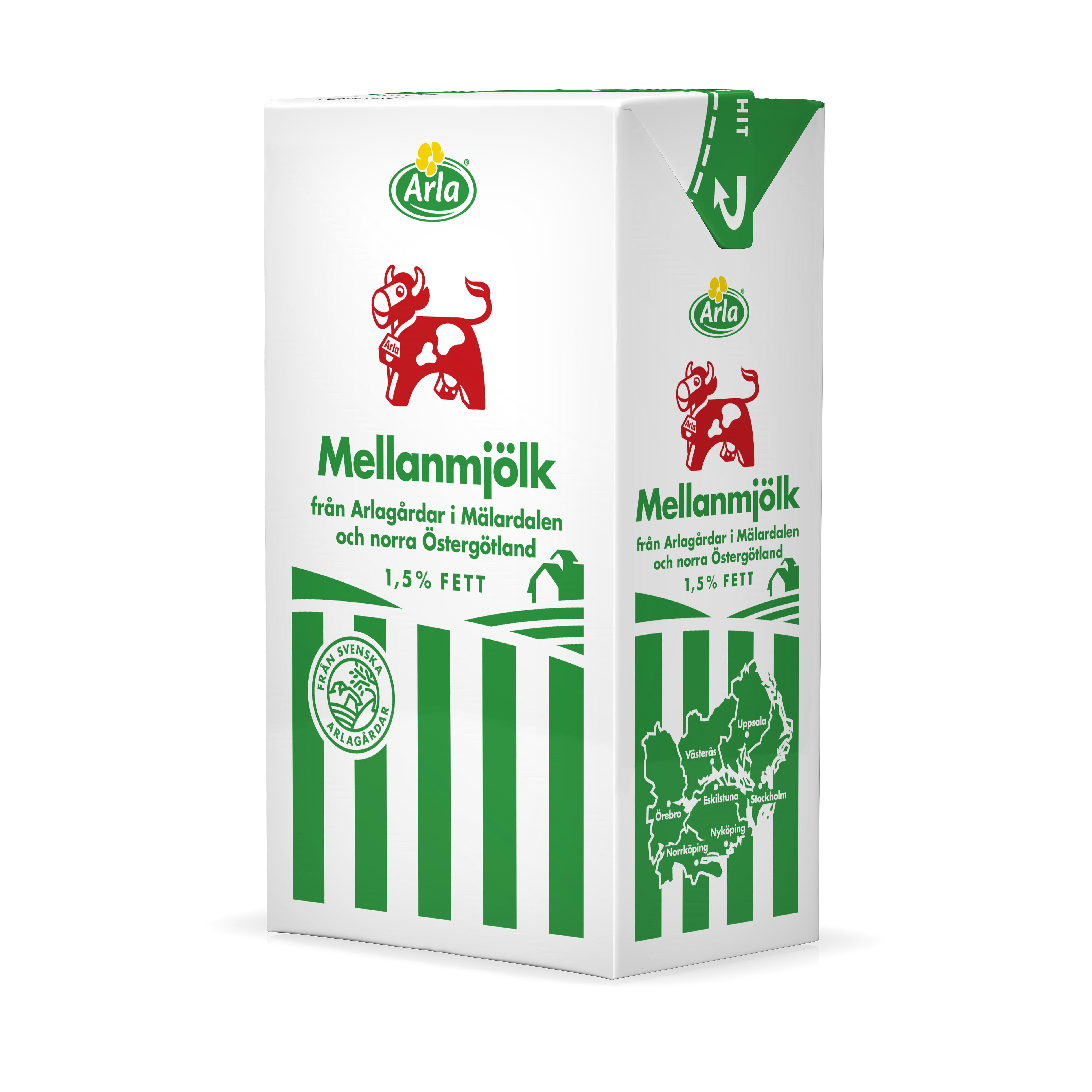 ekologisk laktosfri mjölk skånemejerier