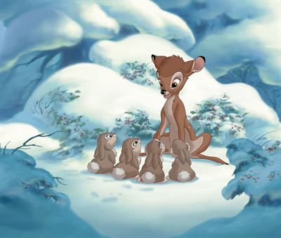 På hal is med Bambi 2 © Disney