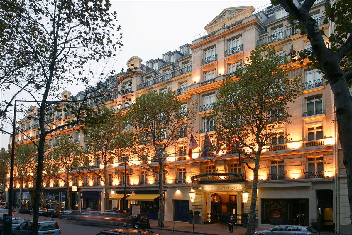 Radisson Ambassador Hotel Paris Op Ra Rezidor
